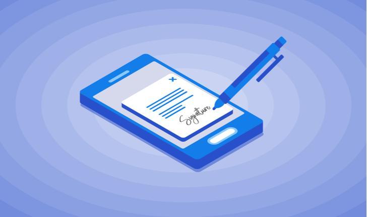Como assinar documento digitalmente pelo celular