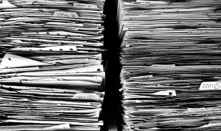 Como organizar documentos?