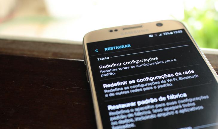 Como resetar o celular Samsung