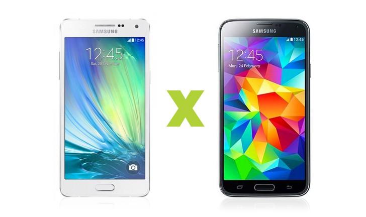 Comparamos o Samsung Galaxy A5 com o Galaxy S5. Confira!