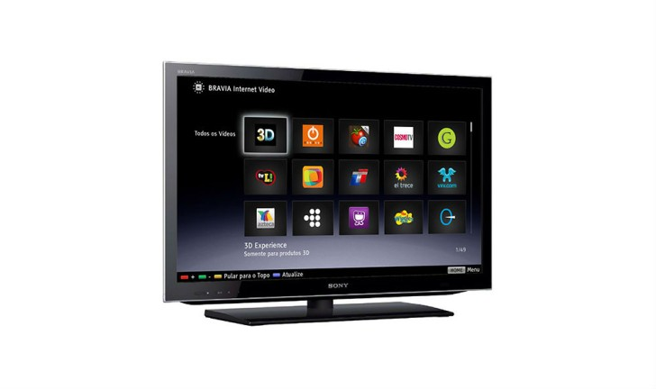 Conheça a linha Sony Internet TV