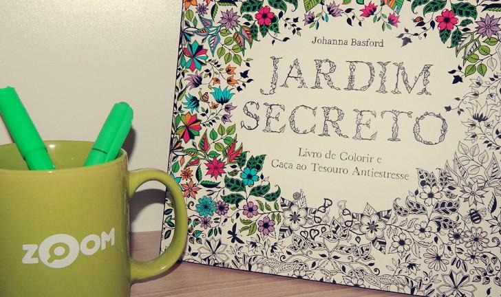 Conheça Jardim Secreto, o livro para colorir que é sucesso entre os adultos
