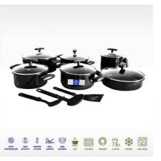 Conjunto de Panelas 9 peça(s) Royale Premium Premium Cooktop