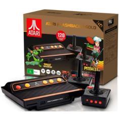 Console Atari Flashback 9 Tectoy atari flashback 9 gold