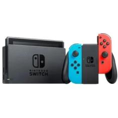 Console Portátil Switch 32 GB com Joy Con Nintendo Bateria Estendida