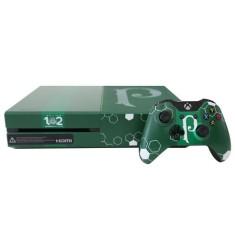 Console Xbox One 500 GB Microsoft Edição Limitada Palmeiras 102 Anos