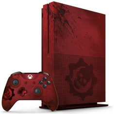 Console Xbox One S 2 TB Microsoft Gears of War 4 4K HDR