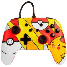 Controle Nintendo Switch Pikachu Pop Art - Power A