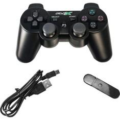 Controle PS3 sem Fio FXJOYPS3W - Flexgold