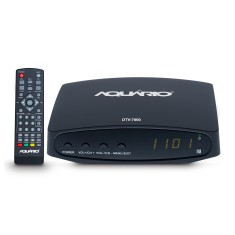 Conversor Digital Full HD HDMI USB DTV-7000 Aquário