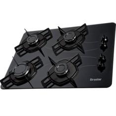 Cooktop Braslar 4 Bocas Acendimento Automático