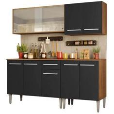 Cozinha Completa 1 Gaveta 9 Portas Emilly Box Madesa