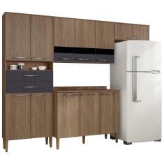 Cozinha Completa 2 Gavetas 11 Portas Safira Plus Bartira