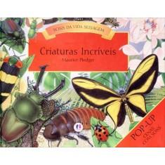 Criaturas Incríveis - Sons da Vida Selvagem - Nova Ortografia - Editora Ciranda Cultural - 9788538020240