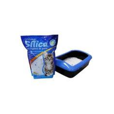 Cristais de silica para higiene de gatos - WESTERN