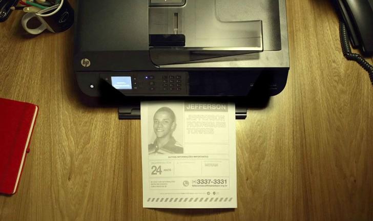 Descubra como impressoras HP ajudam a encontrar pessoas desaparecidas