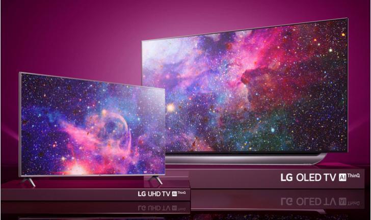 Dia das Mães: compre uma TV OLED da LG e leve um TV 4K de brinde!
