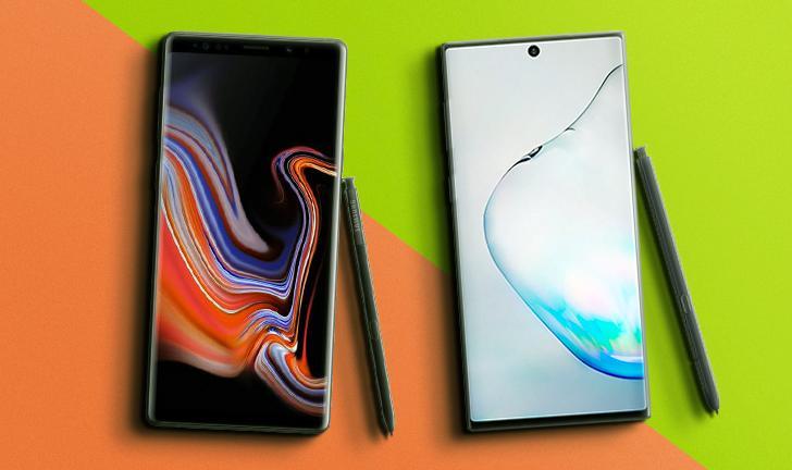 Do Galaxy Note 9 ao Galaxy Note 10: o que muda no lançamento da Samsung
