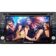 "DVD Player Automotivo Aquarius 6 "" DPA4001 Touchscreen USB"