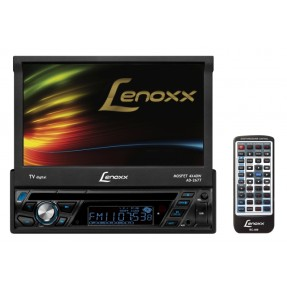 "Foto DVD Player Automotivo Lenoxx 7 "" AD-2677 Touchscreen USB"