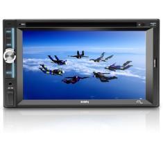 """DVD Player Automotivo Multilaser 6 """" Zion P3307 Touchscreen Entrada para camêra de ré"""