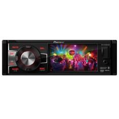 """DVD Player Automotivo Pioneer 4 """" DVH-8880AVBT USB Entrada para camêra de ré"""