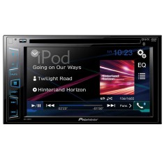 "DVD Player Automotivo Pioneer 6 "" AVH-288BT Bluetooth Entrada para camêra de ré"