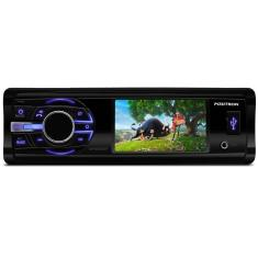 "Foto DVD Player Automotivo Pósitron 3 "" SP4340BT Bluetooth USB"