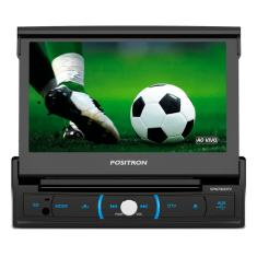 "DVD Player Automotivo Pósitron 7 "" SP 6730 DTV Touchscreen Bluetooth"