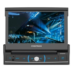 "Foto DVD Player Automotivo Pósitron 7 "" SP6320 BT Touchscreen USB"