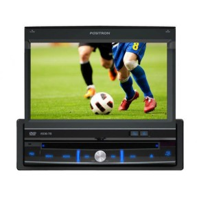 "DVD Player Automotivo Pósitron 7 "" SP6700 Touchscreen Entrada para camêra de ré"