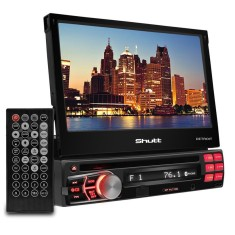 "DVD Player Automotivo Shutt 7 "" Detroit Bluetooth USB"
