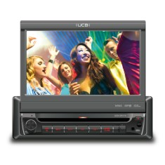 "Foto DVD Player Automotivo UCB Connect 7 "" UCB-DR170 Touchscreen USB"