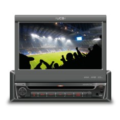 "Foto DVD Player Automotivo UCB Connect 7 "" UCB-DR171AV Touchscreen USB"