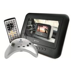 """DVD Player Portátil Tela 7"""" T-6001 Tectoy"""