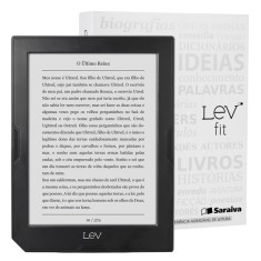 "Foto E-Book Reader 4 GB 6 "" Lev Fit - Saraiva"