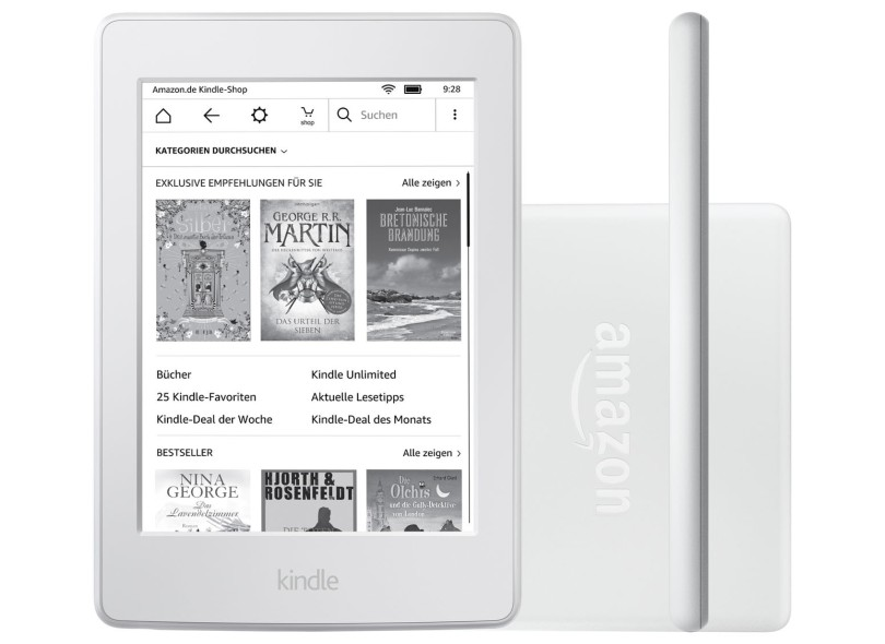 E-Book Reader Kindle 4 GB 6
