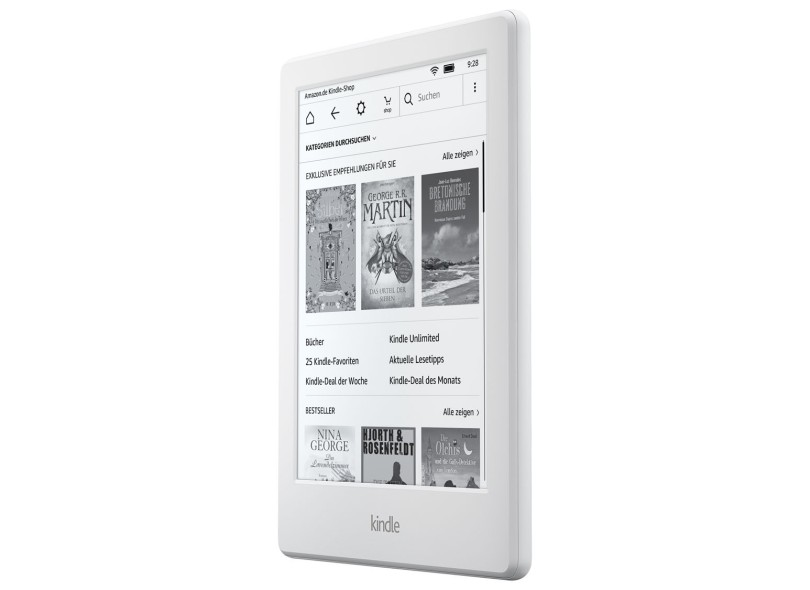 E-Book Reader Kindle 4 GB 6