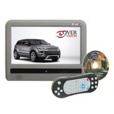"""Encosto de Cabeça com DVD Over Vision 9 """" 9003DT Touchscreen USB"""