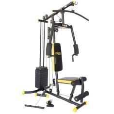 Estação de Musculação 25 Exercícios Kikos Gx Supreme Black