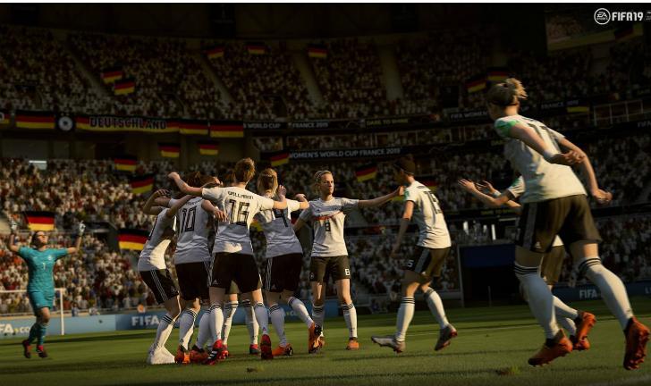 FIFA 19 recebe Copa do Mundo Feminina em atualização