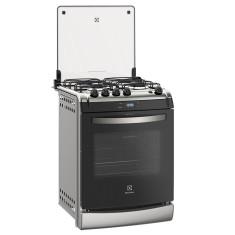 Fogão de Embutir Electrolux 52ERS 4 Bocas Acendimento Automático Timer Sonoro