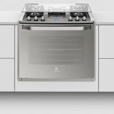 Fogão de Embutir Electrolux 5 Bocas Acendimento Automático Grill 76EXV