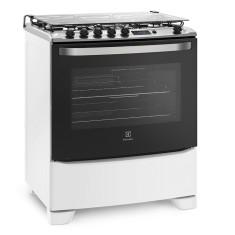 Fogão de Piso Electrolux 76SAB 5 Bocas Acendimento Automático Grill