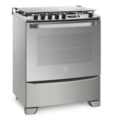 Fogão de Piso Electrolux 76SAS 5 Bocas Acendimento Automático Grill