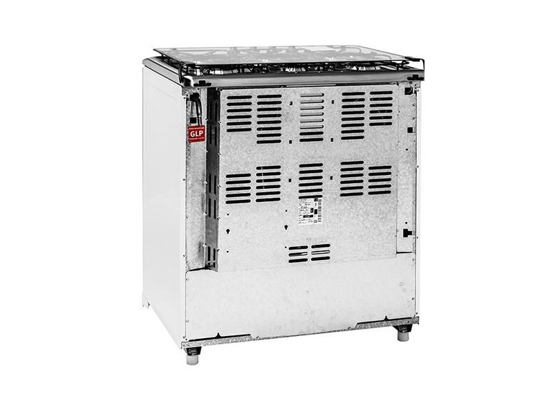 6210837a5 Fogão de Piso Electrolux Celebrate 76SB 6 Bocas Acendimento Automático  Queimadores Diferentes
