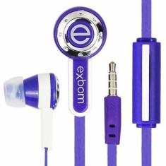 Fone de Ouvido com Microfone Exbom EF-220MV