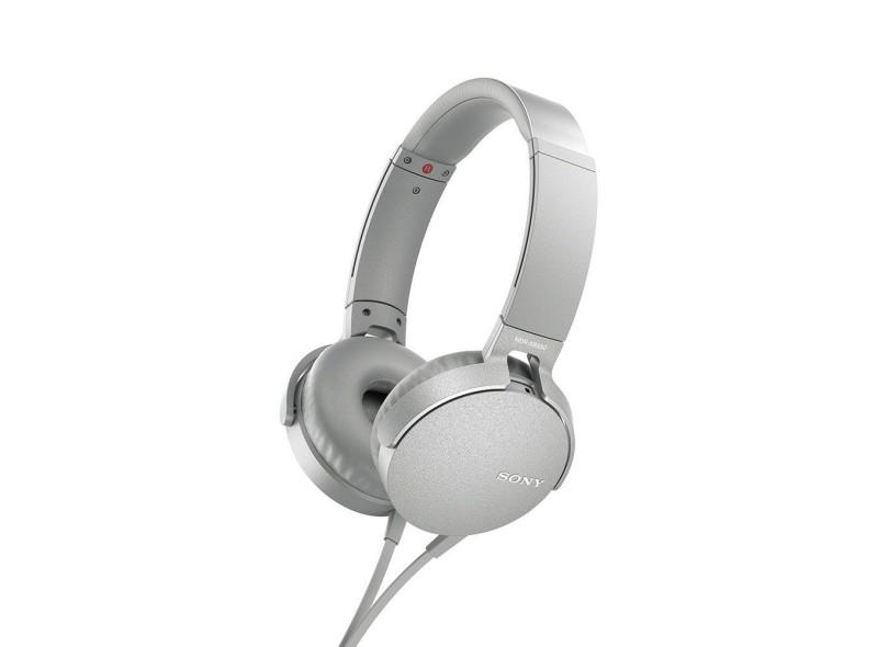 95b24f749 Fone de Ouvido com Microfone Sony Mdr-Xb550Ap