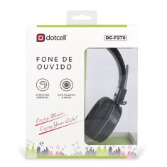 Fone de Ouvido Dotcell DC-F270 Dobrável