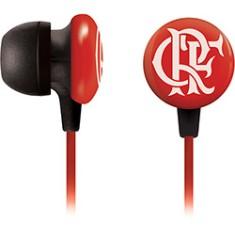 Fone de Ouvido Waldman Super Fan Flamengo